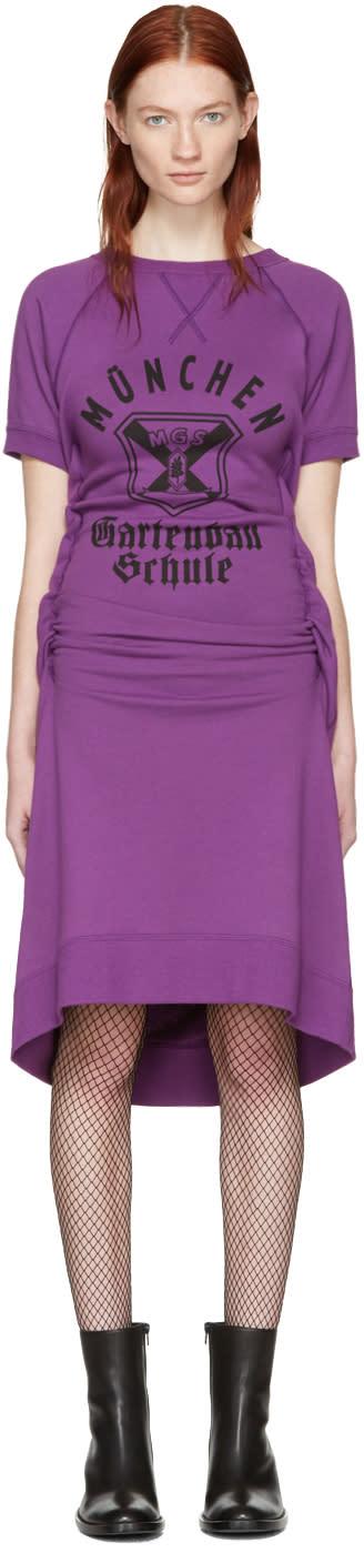 Junya Watanabe Purple Pullover Dress