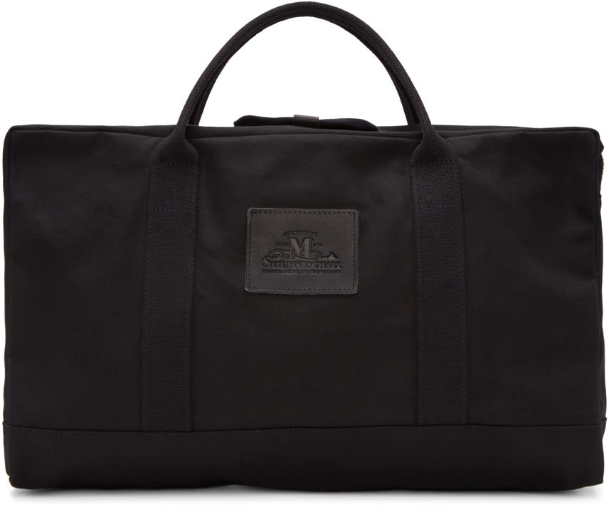 Junya Watanabe Black Seil Marschall Edition Duffle Bag