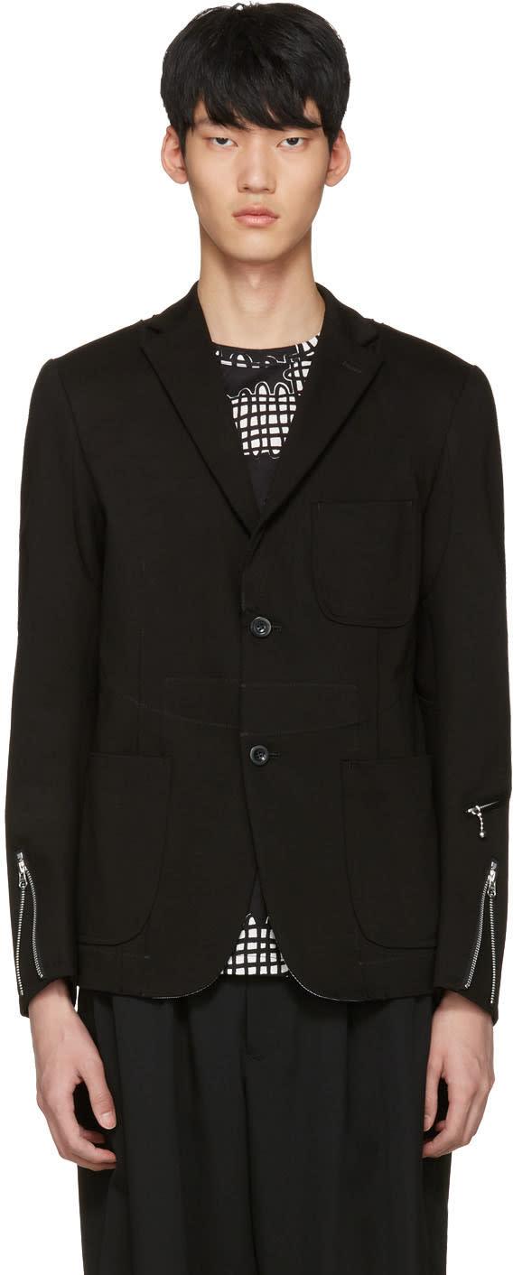 Junya Watanabe Black Zip Blazer