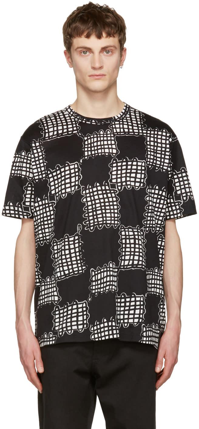 Junya Watanabe Black Printed T-shirt