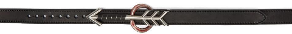 Lanvin Black Arrow Belt
