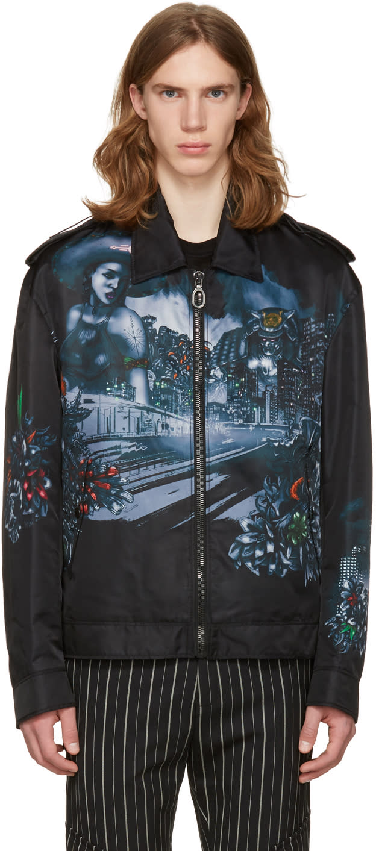 Lanvin Black Lonely Town Jacket