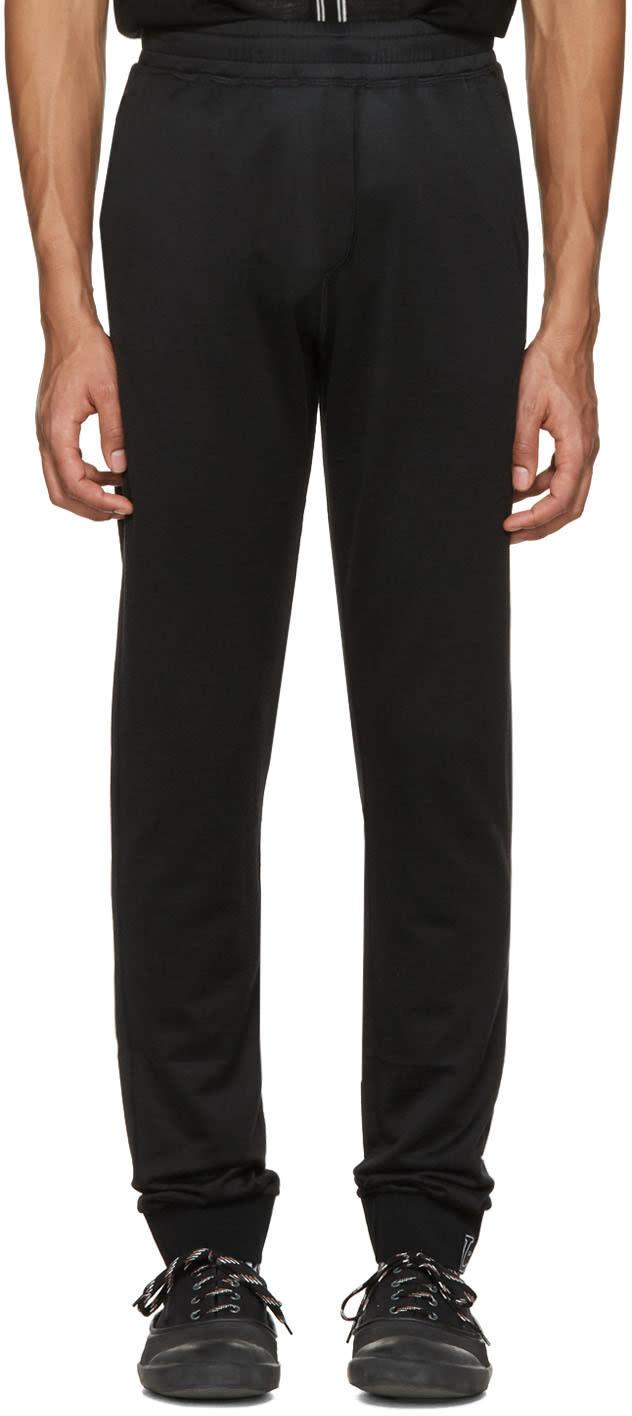 Lanvin Black Worn Lounge Pants