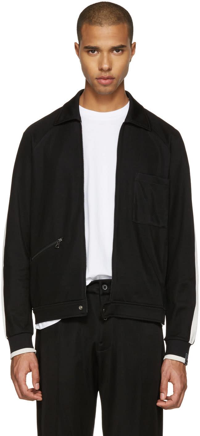 Lanvin Black Retro Track Jacket