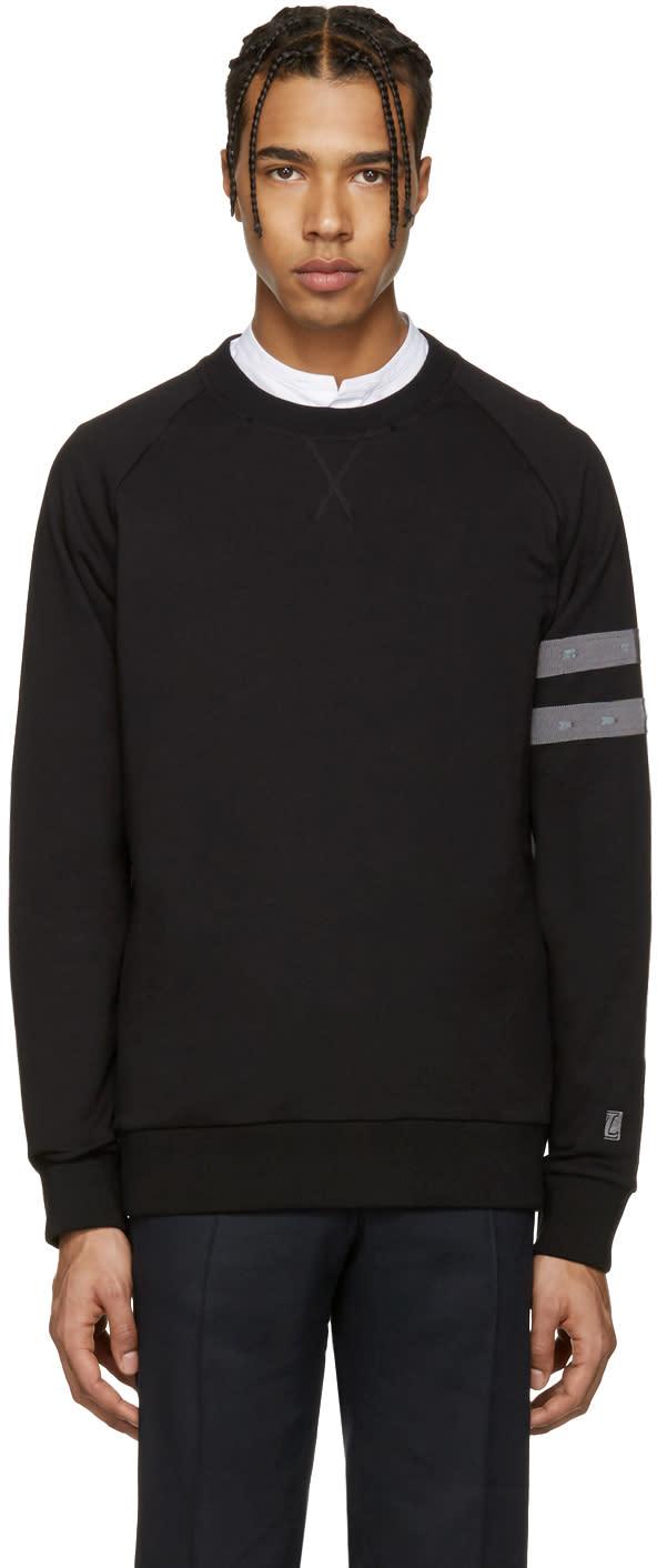 Lanvin Black Distressed Pullover