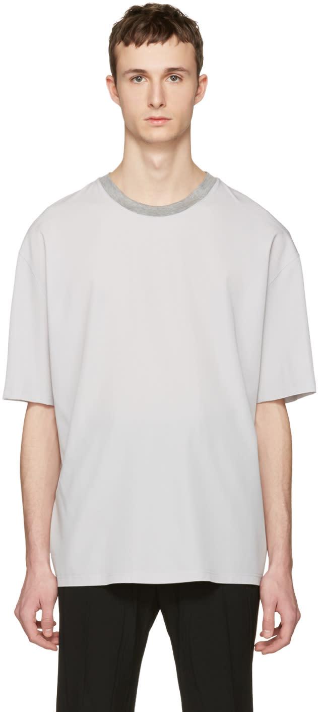 Lanvin Ecru Oversized T-shirt