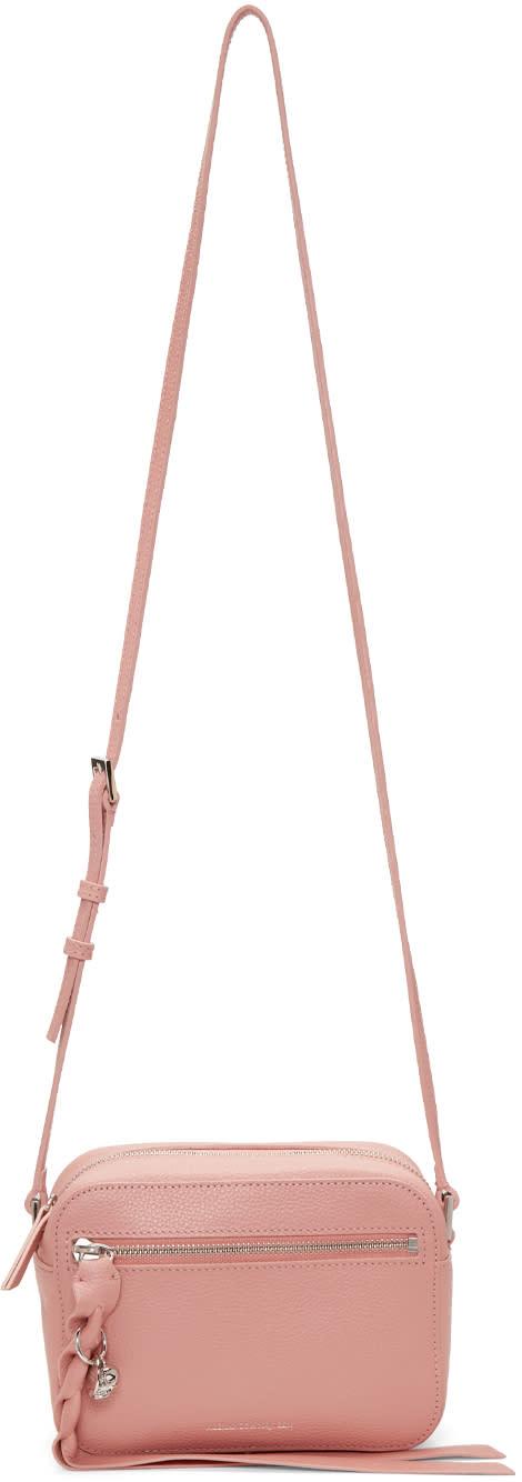 Alexander Mcqueen Pink Small Camera Bag