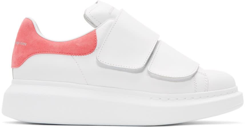 Alexander Mcqueen White Straps Oversized Sneakers