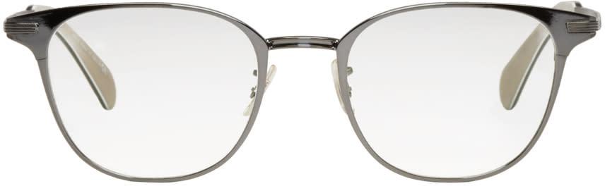 Paul Smith Gunmetal Maddock Glasses