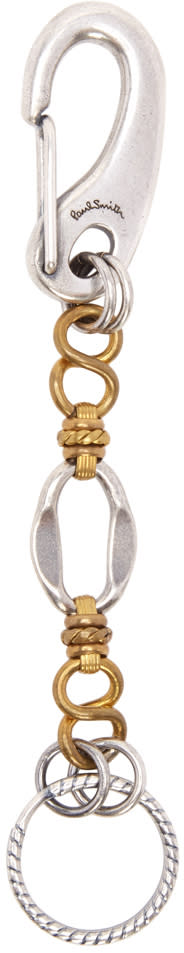 Paul Smith Silver Chain Keychain