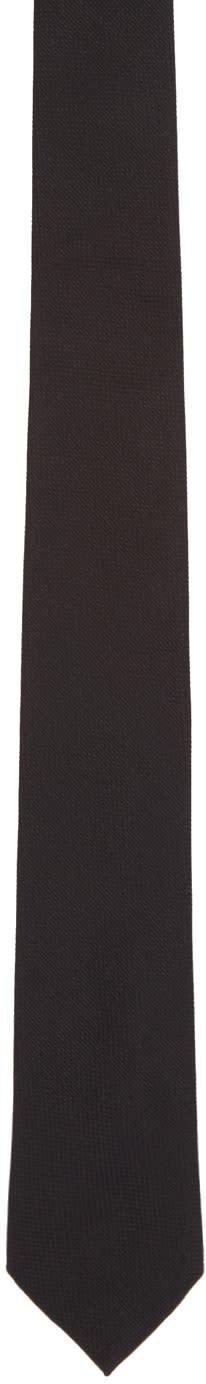 Paul Smith Black Silk Tie