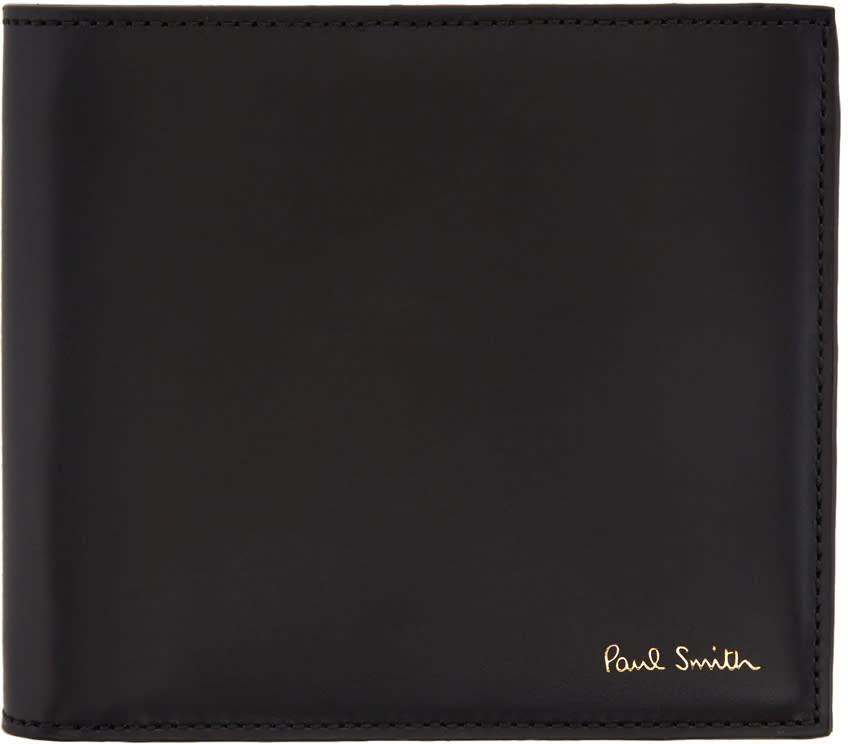 Paul Smith Black Striped Wallet