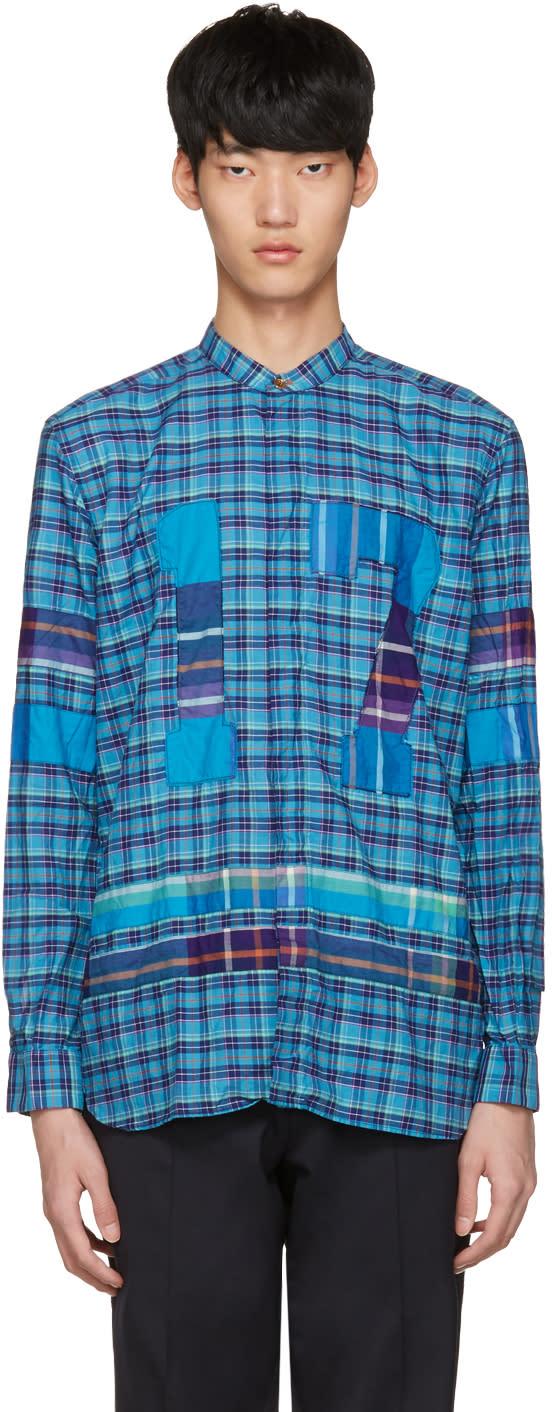 Paul Smith Blue Check 17 Shirt