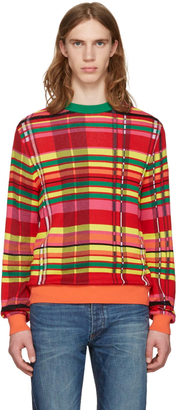 Paul Smith Multicolor Plaid Sweater
