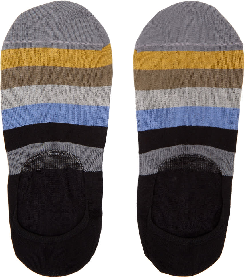 Image of Paul Smith Multicolor Block Loafers Socks