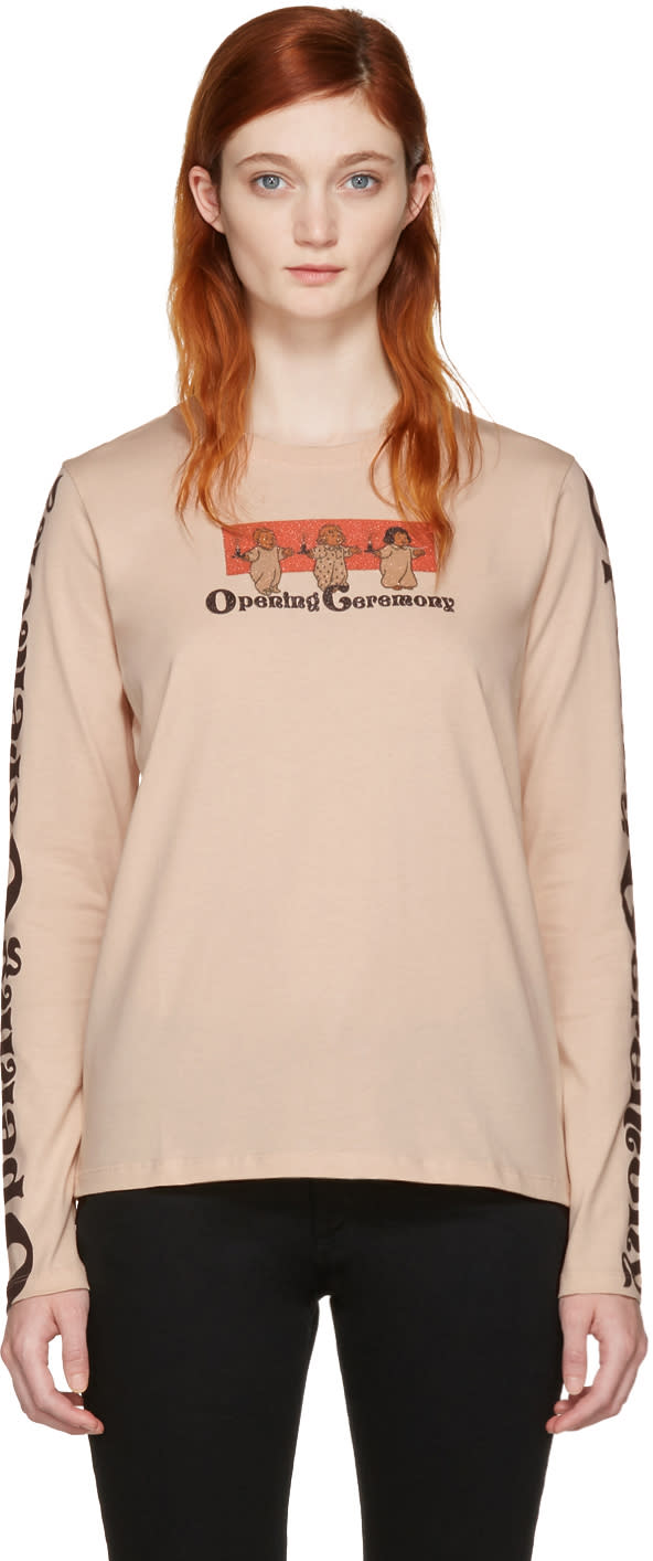 Opening Ceremony Pink Babies T-shirt
