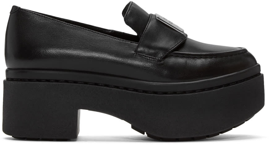 Opening Ceremony Black Platform Agnees Loafers