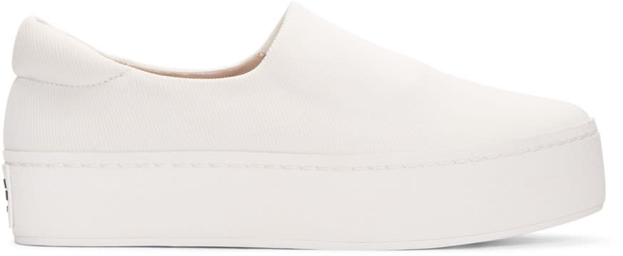 Opening Ceremony Ivory Cici Slip-on Sneakers