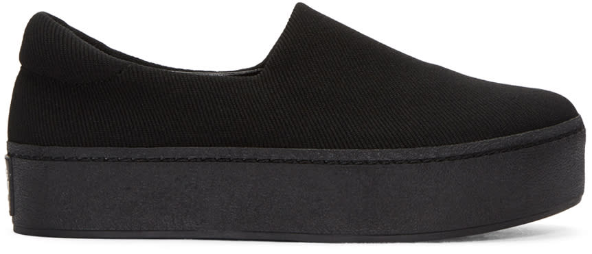 Opening Ceremony Black Cici Slip-on Sneakers