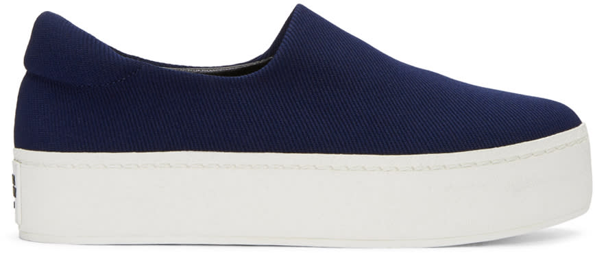 Opening Ceremony Navy Cici Slip-on Sneakers