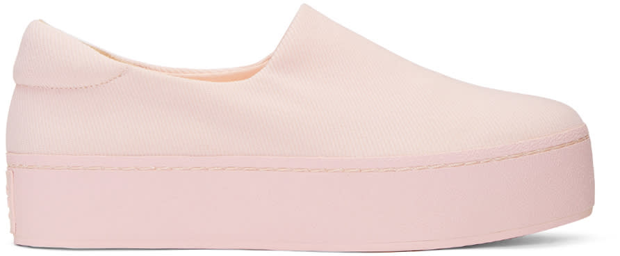 Opening Ceremony Pink Cici Slip-on Sneakers