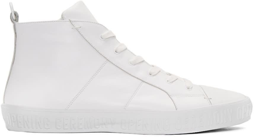 Opening Ceremony White Howard High-top Sneakers