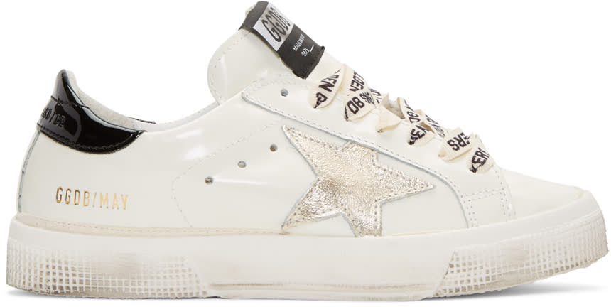Golden Goose White Star May Sneakers