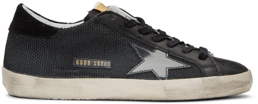 Golden Goose Black Cord Superstar Sneakers