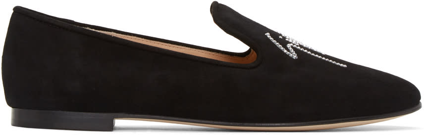 Black Suede Dalila Loafers