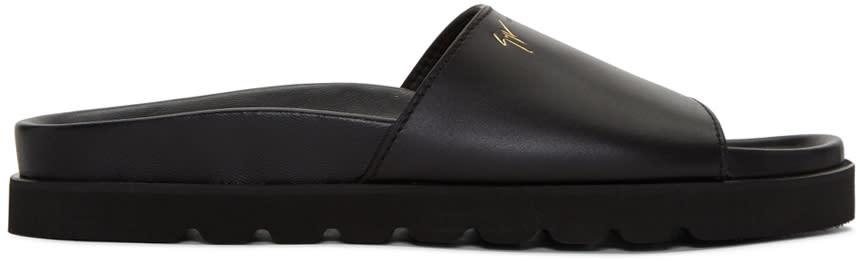 Giuseppe Zanotti Black Rimba Sandals