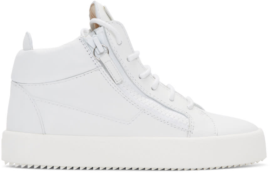 Giuseppe Zanotti White London High-top Sneakers