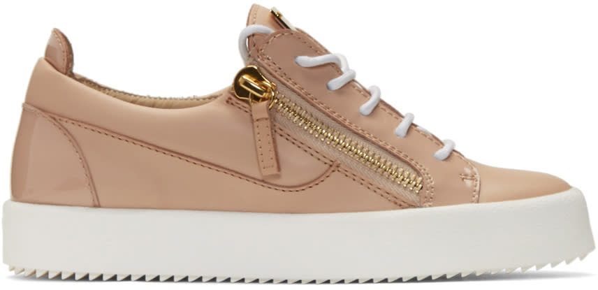 Giuseppe Zanotti Pink London Sneakers