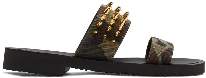 Giuseppe Zanotti Tricolor Gomzak Sandals