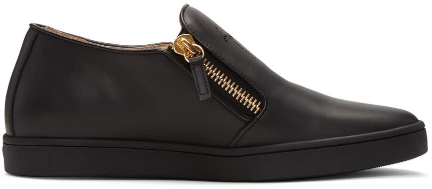Giuseppe Zanotti Black Brek Sneakers