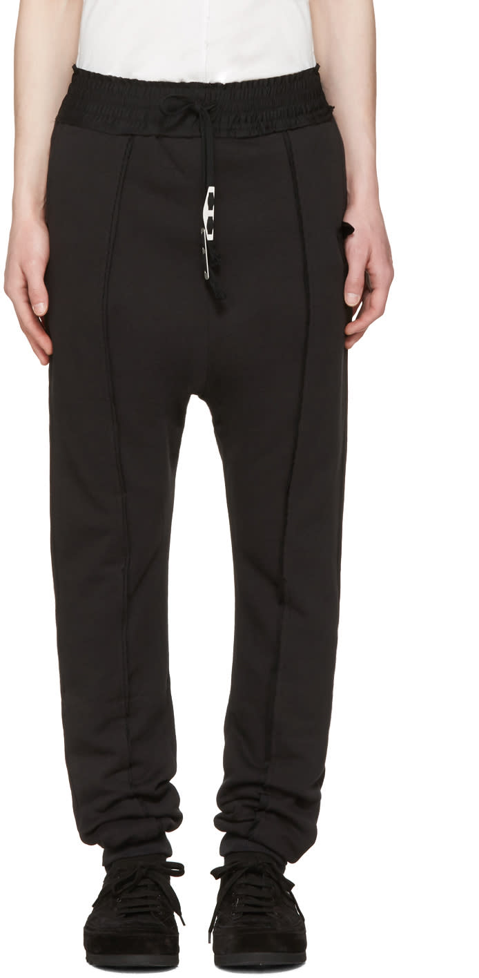 Damir Doma Black Pei Lounge Pants