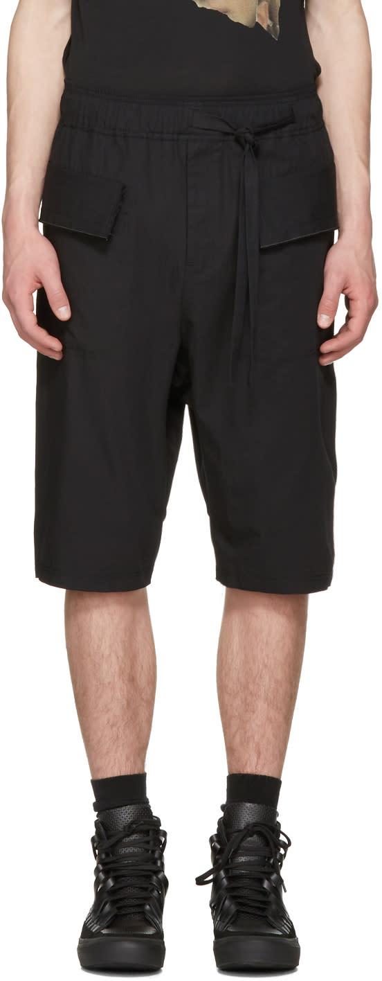 Image of Damir Doma Black Prys Shorts