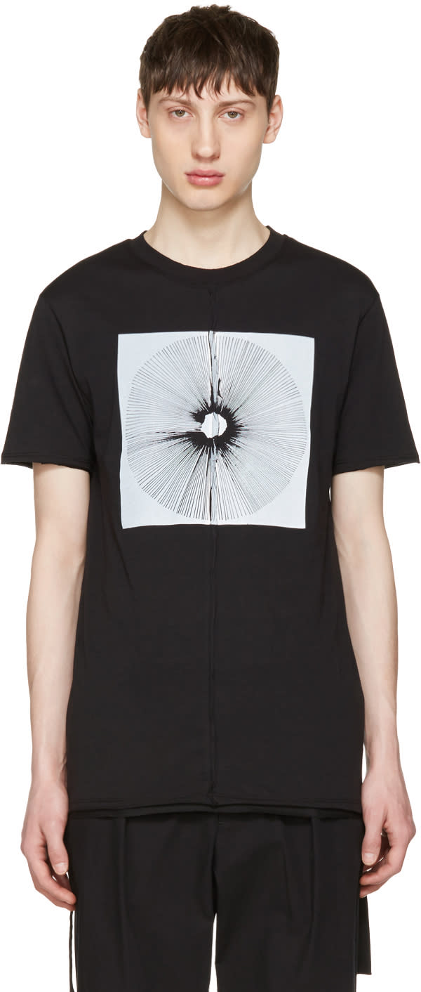 Damir Doma Black Tewes Crown T-shirt