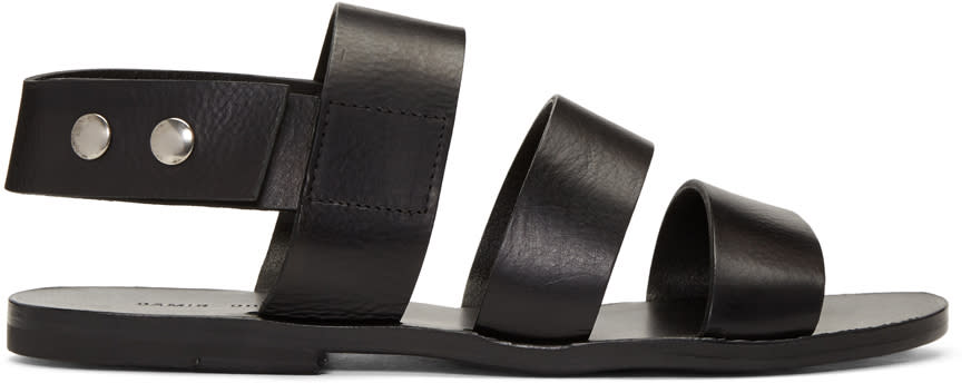 Damir Doma Black Fiesta Sandals
