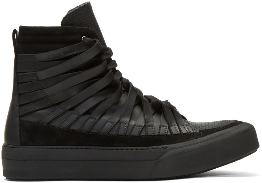Damir Doma Black Falco High-top Sneakers