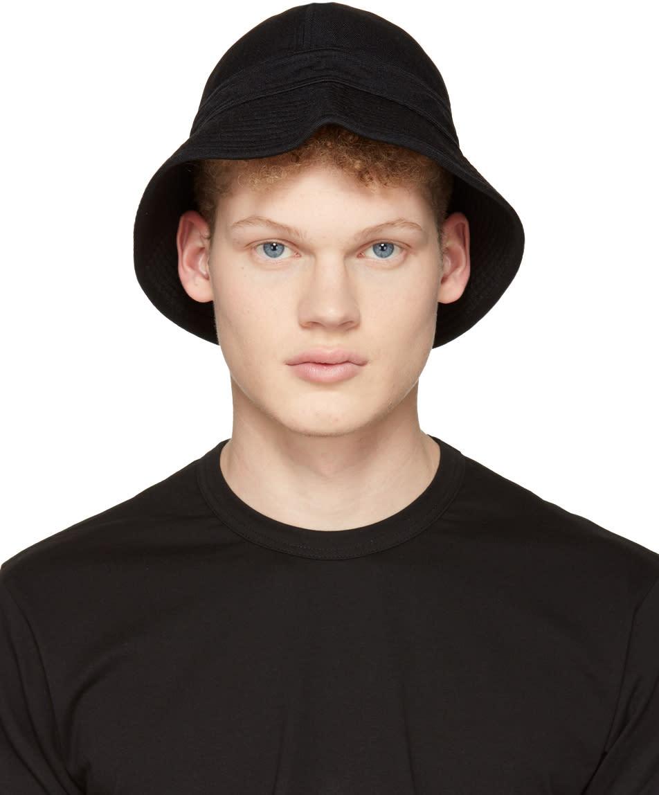 Image of Comme Des Garçons Shirt Black Bucket Hat