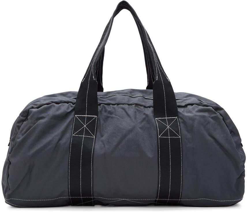 Comme Des Garcons Shirt Grey Nylon Duffle Bag