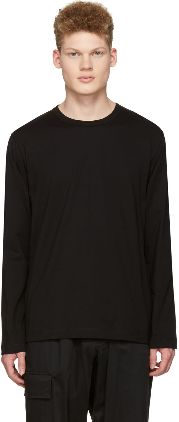 Image of Comme Des Garçons Shirt Black Back Logo T-shirt