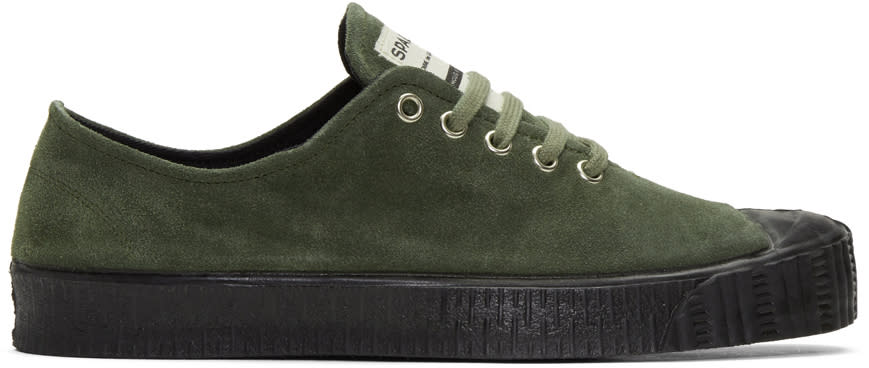 Comme Des Garcons Shirt Green Spalwart Edition Special V Sneakers