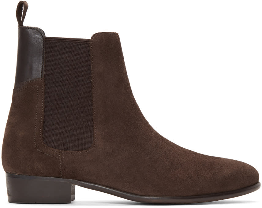 H By Hudson Brown Watts Chelsea Boots