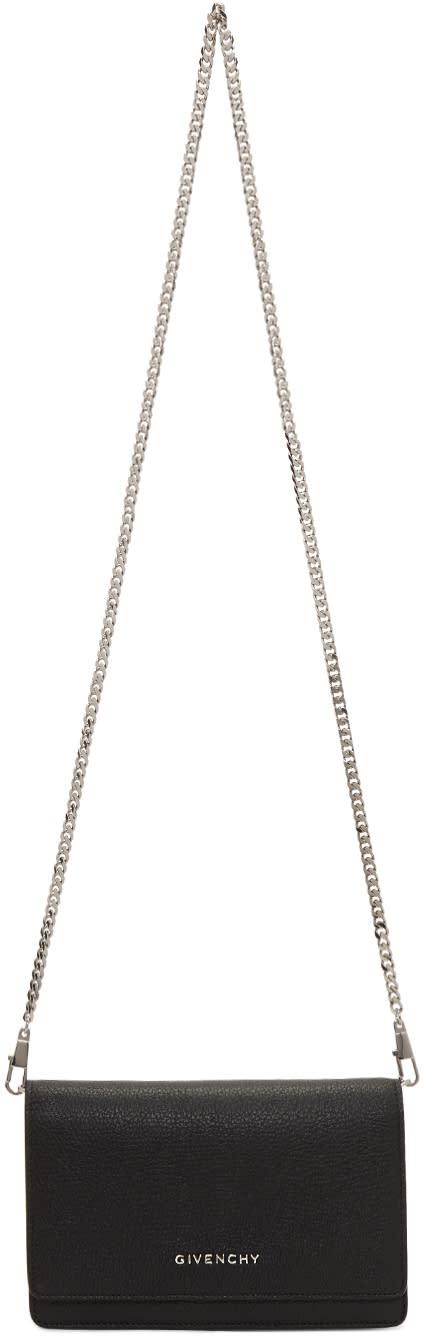 Givenchy Black Pandora Chain Wallet Bag