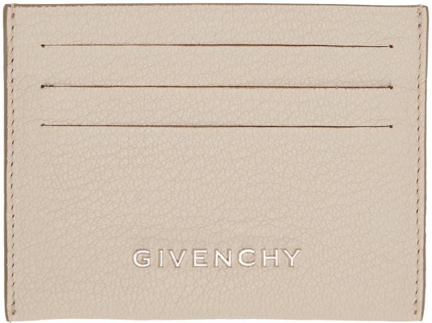 Givenchy Beige Pandora Card Holder