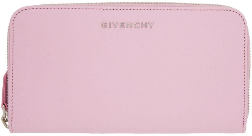 Givenchy Pink Long Pandora Wallet