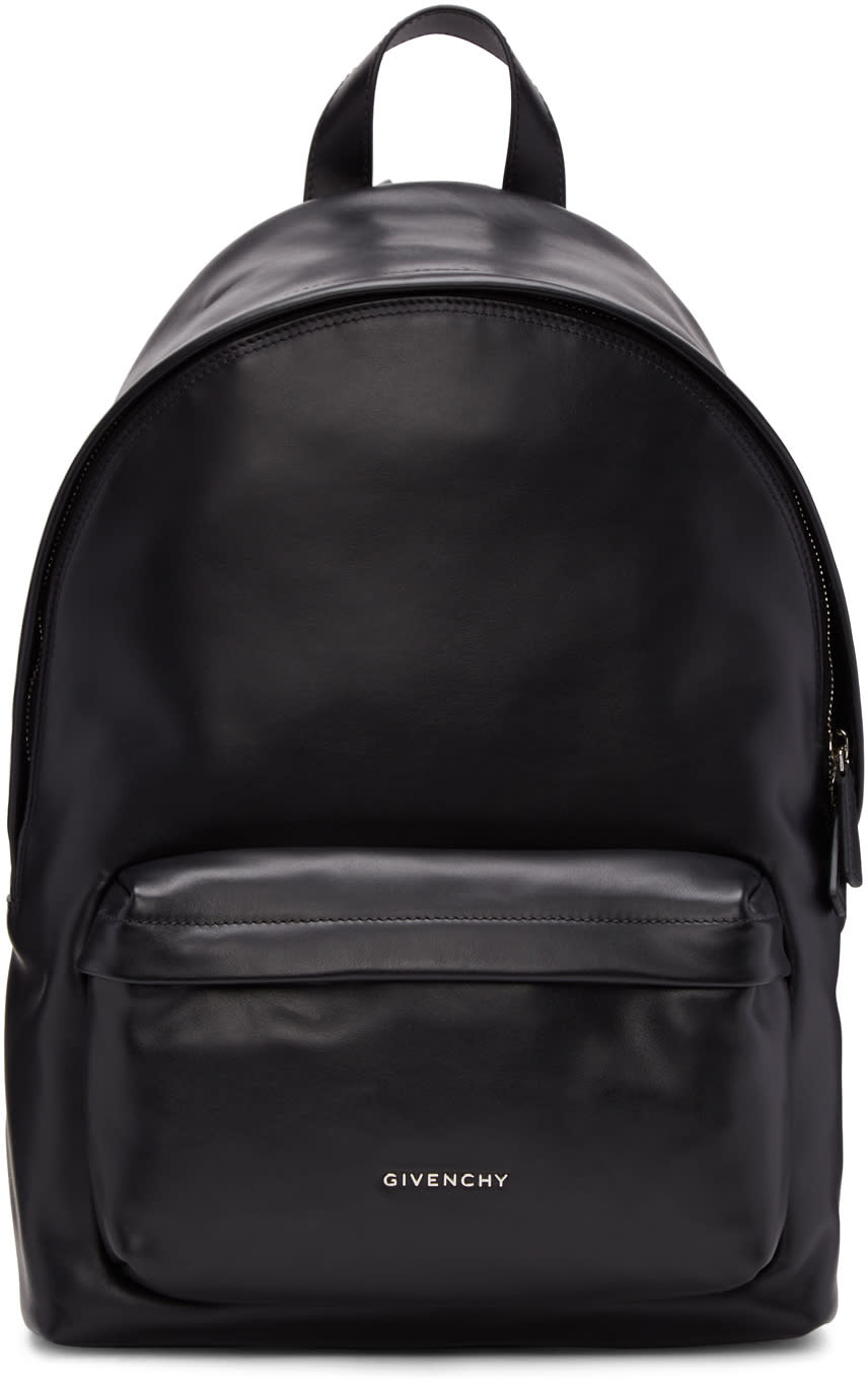 Givenchy Black Small Leather Backpack