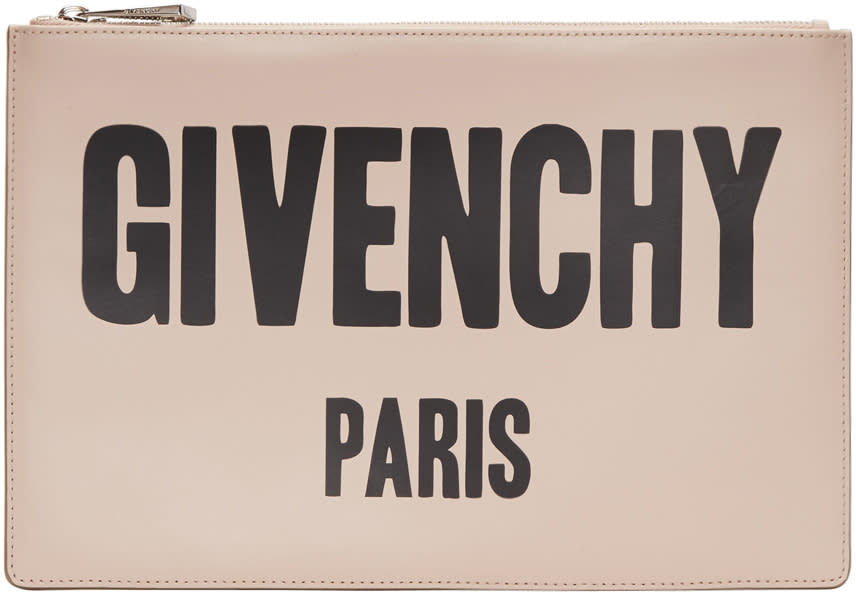 Givenchy Pink Logo Pouch