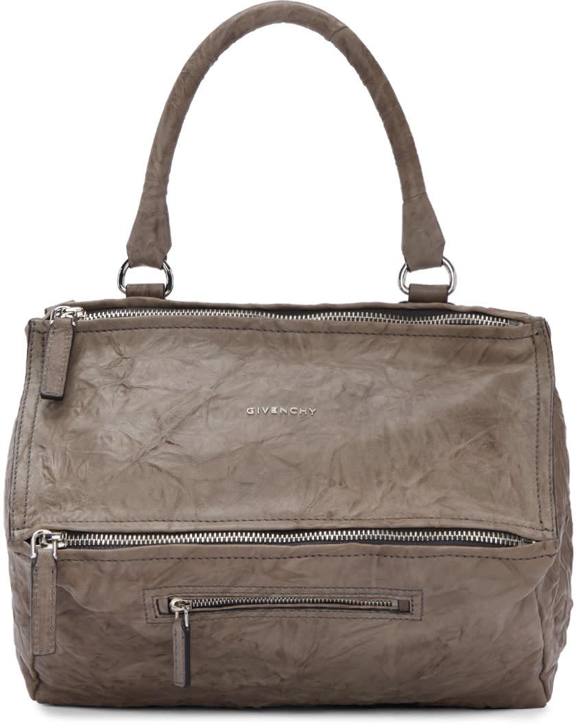 Givenchy Taupe Medium Pandora Bag